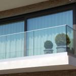glasbalustrades balkon appartement