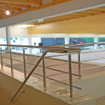 Inox trapleuningen zwembad