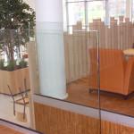 balustrades in glas