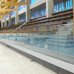 Glaswanden zwembad