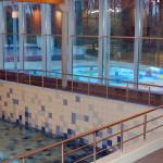 Inox balustrades zwembad