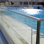 glasbalustrades zwembad
