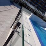 glasbalustrades en inox leuningen zwembad